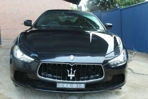 2014 Maserati Ghibli M157 MY15 Nero 8 Speed Sports Automatic Sedan Croydon Burwood Area Preview