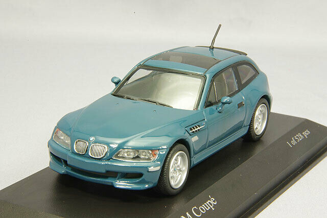 MINICHAMPS MC400029061 1:43 BMW M Coupe 2002 Blue model cars KIDBOX
