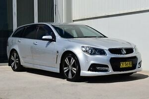2014 Holden Commodore VF MY14 SV6 Sportwagon Storm Nitrate Silver 6 Speed Sports Automatic Wagon Rutherford Maitland Area Preview