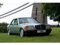 MERCEDES BENZ 190E AUTO 2.0 4DR 1988 AMG WHEELS NOW SOLD