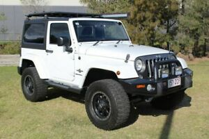 2015 Jeep Wrangler JK MY2015 X White 5 Speed Automatic Hardtop Ormeau Gold Coast North Preview