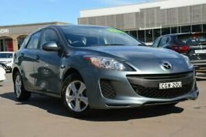 2012 Mazda 3 BL10F2 Neo Grey 6 Speed Manual Hatchback McGraths Hill Hawkesbury Area Preview