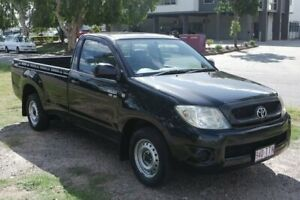 2009 Toyota Hilux GGN15R MY09 SR Black 5 Speed Automatic Utility