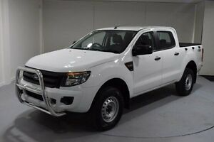 2015 Ford Ranger PX XL Double Cab White 6 Speed Sports Automatic Utility Cooee Burnie Area Preview