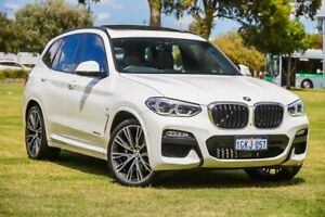 2017 BMW X3 G01 xDrive30d Steptronic White 8 Speed Automatic Wagon Burswood Victoria Park Area Preview
