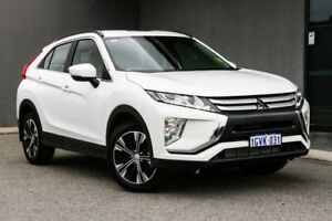 2019 Mitsubishi Eclipse Cross YA MY19 ES 2WD White 8 Speed Constant Variable Wagon Osborne Park Stirling Area Preview