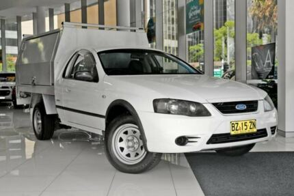 2007 Ford Falcon BF Mk II RTV Ute Super Cab White 4 Speed Automatic Utility