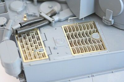 Taigen photo-etch grills for 1/16 scale Heng Long Tiger 1 tank