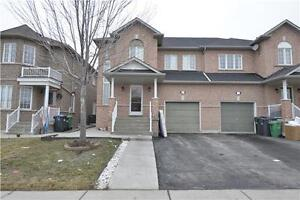 3 bedroom 1925 Sqft semi-detached w/finished bsmt in Brampton
