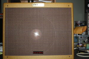 HIGH POWER TWEED CLONE 5FB-A AMP with 1 x 15 inch speaker