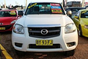 2007 Mazda BT-50 UNY0E3 SDX Freestyle White 5 Speed Manual Utility Minchinbury Blacktown Area Preview