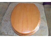 Pine Toilet Seat - Brand New
