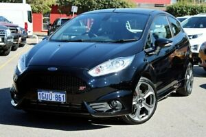 2017 Ford Fiesta WZ ST Black 6 Speed Manual Hatchback Midland Swan Area Preview