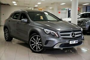 2014 Mercedes-Benz GLA 250 4MATIC X156 805+055MY DCT 4MATIC Mountain Grey 7 Speed South Melbourne Port Phillip Preview