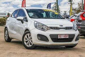 2014 Kia Rio UB MY15 S White 4 Speed Sports Automatic Hatchback Gympie Gympie Area Preview