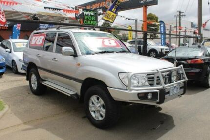 2006 Toyota Landcruiser UZJ100R Upgrade II GXL (4x4) Silver 5 Speed Automatic Wagon West Footscray Maribyrnong Area Preview