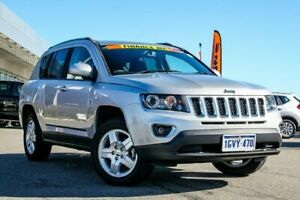2014 Jeep Compass MK MY14 North Silver 6 Speed Sports Automatic Wagon