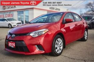 2016 Toyota Corolla LE - Because you're also buying peace of min