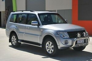 2014 Mitsubishi Pajero NW MY14 GLX-R Silver 5 Speed Sports Automatic Wagon Kenwick Gosnells Area Preview