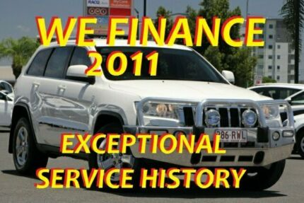 2011 Jeep Grand Cherokee WK MY2012 Laredo White 5 Speed Sports Automatic Wagon
