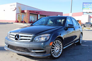 2011 Mercedes C-Class C250 4Matic AWD Low Km, Cheapest