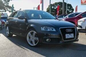 2012 Audi A3 8P MY12 (N1) Ambition Sportback S Tronic Grey 7 Speed Sports Automatic Dual Clutch Dandenong Greater Dandenong Preview
