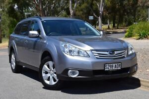 2010 Subaru Outback B5A MY11 2.5i Lineartronic AWD Silver 6 Speed Constant Variable Wagon St Marys Mitcham Area Preview