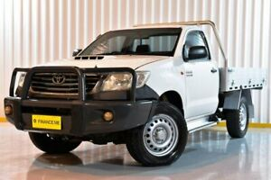 2014 Toyota Hilux KUN26R MY14 SR Glacier 5 Speed Automatic Cab Chassis Hendra Brisbane North East Preview