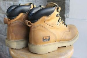 Timberland Pro Safety Boots men's size US 12 M steel toe leather