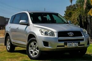 2010 Toyota RAV4 ACA33R MY09 CV Silver 5 Speed Manual Wagon