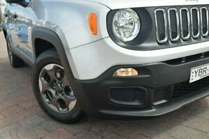 2016 Jeep Renegade BU Sport Silver 6 Speed Auto Dual Clutch Wagon Waitara Hornsby Area Preview