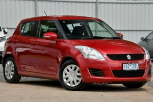 2013 Suzuki Swift FZ MY14 GL Red 5 Speed Manual Hatchback