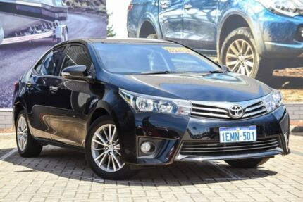 2014 Toyota Corolla ZRE172R SX Black 6 Speed Manual Sedan Morley Bayswater Area Preview