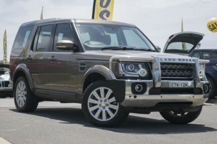 2014 Land Rover Discovery Series 4 L319 MY14 TDV6 Gold 8 Speed Sports Automatic Wagon Pearce Woden Valley Preview