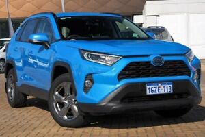 2019 Toyota RAV4 Axah52R GXL 2WD Blue 6 Speed Constant Variable Wagon Hybrid Morley Bayswater Area Preview