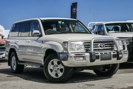 2006 Toyota Landcruiser HDJ100R Sahara Crystal Pearl 5 Speed Automatic Wagon