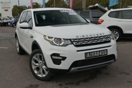 2016 Land Rover Discovery Sport L550 16.5MY SD4 HSE Fuji White 9 Speed Sports Automatic Wagon