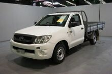 2009 Toyota Hilux GGN15R MY09 SR White 5 Speed Manual Cab Chassis Old Guildford Fairfield Area Preview