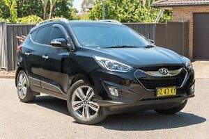 2014 Hyundai ix35 LM3 MY14 Highlander AWD Black 6 Speed Sports Automatic Wagon Greenacre Bankstown Area Preview