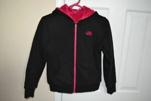 NORTH FACE Girls Size 10 - 12 Reversible Jacket: Great for Fall