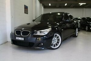 2005 BMW 525i E60 M Sport Steptronic Blue 6 Speed Sports Automatic Sedan Castle Hill The Hills District Preview