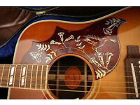 Gibson 50th Anniversary Hummingbird Guitar for sale.