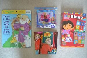 Toys, Games, Puzzles, Books, Ty Beanie Cat, Barbie Doll, Bag