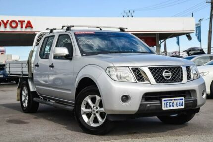 2013 Nissan Navara D40 MY12 ST (4x4) Silver 5 Speed Automatic Dual Cab Pick-up Osborne Park Stirling Area Preview