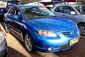 2004 Mazda 3 BK1031 SP23 Blue 4 Speed Sports Automatic Sedan Colyton Penrith Area Preview