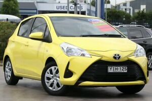 2018 Toyota Yaris NCP130R Ascent Yellow 4 Speed Automatic Hatchback Penrith Penrith Area Preview