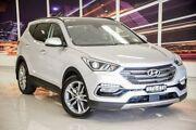 2017 Hyundai Santa Fe DM3 MY17 Highlander Silver 6 Speed Sports Automatic Wagon Blacktown Blacktown Area Preview
