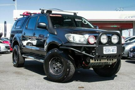 2008 Toyota Hilux GGN25R 08 Upgrade SR (4x4) Ink 5 Speed Automatic Dual Cab Pick-up Osborne Park Stirling Area Preview