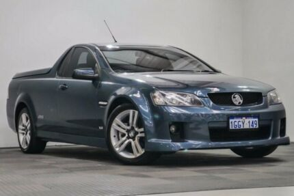 2009 Holden Ute VE MY09.5 SS Green 6 Speed Manual Utility
