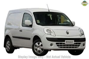 2011 Renault Kangoo X61 White 4 Speed Automatic Van Cannington Canning Area Preview